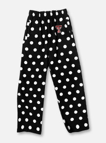 Texas Tech Red Raiders Double T YOUTH Polka Dot Pajama Pants