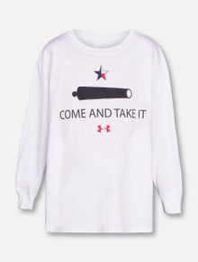 "Under Armour Texas Tech Red Raiders YOUTH ""Come and Take It"" Performance Long Sleeve T-Shirt"
