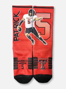 Texas Tech Red Raiders Patrick Mahomes Striped Socks