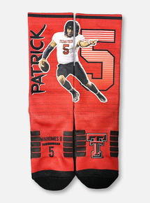 Texas Tech Red Raiders Patrick Mahomes Striped Socks