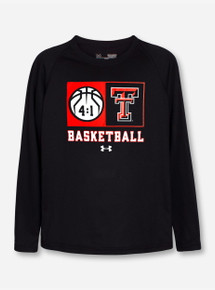 "Under Armour Texas Tech ""Technical"" YOUTH Long Sleeve T-Shirt"