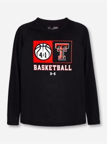 "Under Armour Texas Tech ""Technical"" YOUTH Long Sleeve T-Shirt"