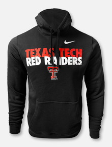 "Nike Texas Tech Red Raiders Double T ""Club"" Fleece Hoodie"