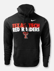 "Nike Texas Tech Red Raiders Double T ""Club"" Fleece Hoodie"