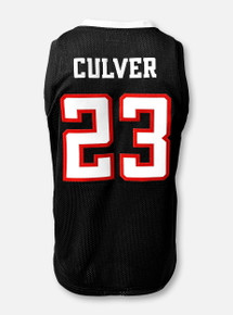 Retro Brand Texas Tech Red Raiders Jarrett Culver #23 Tackle Twill Jersey