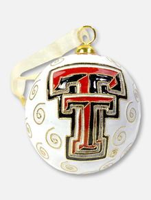 Kitty Keller Texas Tech Red Raiders Double T Alumni Ornament