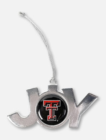 Texas Tech Red Raiders Double T Inside Of Joy Ornament