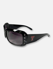 Texas Tech Red Raiders Double T Crystal Fashion Sunglasses