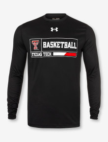 "Under Armour Texas Tech Red Raiders Double T ""2020 Basketball Courtside"" Long Sleeve T-Shirt"