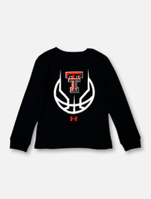 "Under Armour Texas Tech Red Raiders ""Slam Dunk"" YOUTH Long Sleeve T-Shirt"