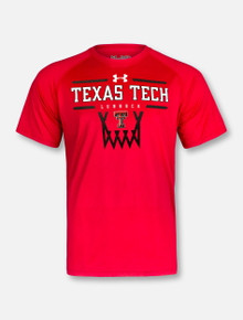 "Under Armour Texas Tech Red Raiders Double T ""Hoop It Up"" T-Shirt"
