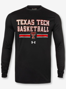 "Under Armour Texas Tech Red Raiders Double T Basketball ""Wells Runs Deep"" Long Sleeve T-Shirt"