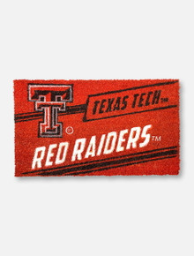 Texas Tech Red Raiders Double T Coir Welcome Mat