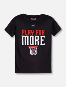 "Under Armour Texas Tech Red Raiders Double T ""Play For More"" YOUTH T-Shirt"