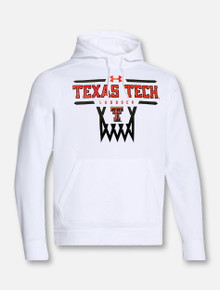 "Under Armour Texas Tech Red Raiders Double T Basketball ""Hoop It Up"" Hooded Sweatshirt"