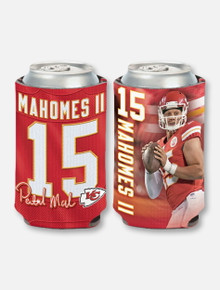 Texas Tech Red Raiders Kansas City Chiefs 12 Oz. Can Cooler Featuring #15-Patrick Mahomes II
