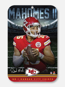 Texas Tech Red Raiders Kansas City Chiefs Sign Featuring Patrick Mahomes II (PREORDER SHIPS 1/28/2020)
