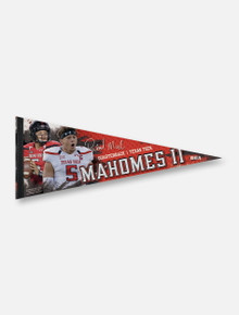 Texas Tech Red Raiders Patrick Mahomes II Premium Pennant