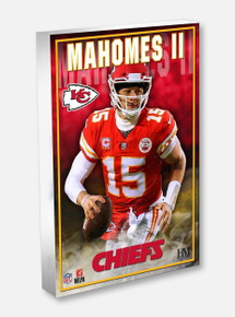Texas Tech Red Raiders Highland Mint Kansas City Chiefs Patrick Mahomes 3D Acrylic BlocKart
