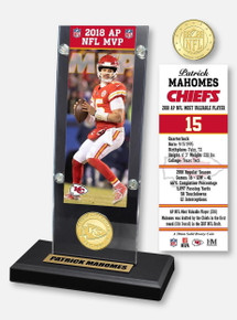 Texas Tech Red Raiders Highland Mint Kansas City Chiefs Patrick Mahomes 2018 MVP Commemorative Ticket and Mint Coin