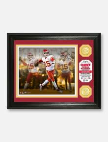 Texas Tech Red Raiders Highland Mint Kansas City Chiefs Patrick Mahomes 2018 NFL MVP Bronze Coin Photo Mint   (PREORDER SHIPS 1/28/2020)