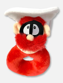 Texas Tech Red Raiders Raider Red Mascot Rattle