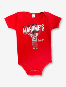 Texas Tech Red Raiders Patrick Mahomes Rollin' With Mahomes INFANT Onesie