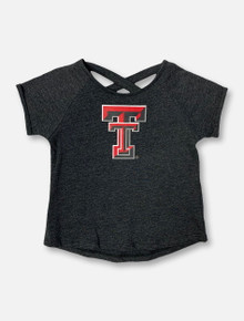 "Arena Texas Tech Red Raiders Double T ""Dabba"" TODDLER GIRLS Crossback T-Shirt"