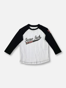 "Arena Texas Tech Red Raiders ""Stone Age"" YOUTH Three-Quarter Sleeve Raglan Baseball T-Shirt"