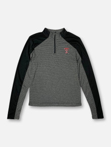 "Arena Texas Tech Red Raiders Double T  ""Quary"" YOUTH Quarter-Zip Lightweight Pullover"