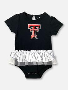 "Arena Texas Tech Red Raiders Double T ""DA-DA-DA-Duh"" INFANT GIRLS Tutu Onesie"