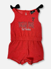 "Arena Texas Tech Red Raiders Double T ""Haparoo"" INFANT GIRLS Tank Romper"