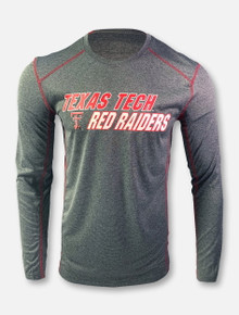 """Arena Texas Tech Red Raiders Double T """"Campaign"""" Long Sleeve T-Shirt"""