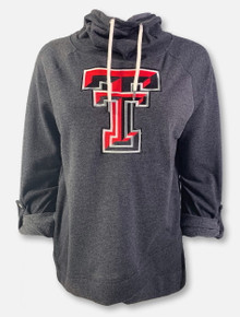 """Arena Texas Tech Red Raiders Double T """"Leslie"""" Hooded Pullover"""