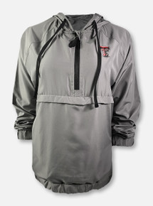 "Arena Texas Tech Red Raiders Double T ""Treat Yourself"" Packable Backpack Anorak Quarter-Zip Jacket"