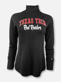 "Arena Texas Tech Red Raiders Double T ""Galentine"" Quarter-Snap Pullover"