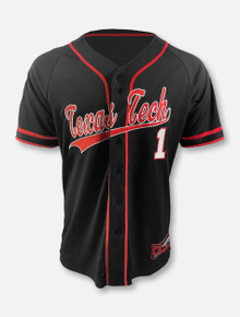 "Arena Texas Tech Red Raiders Double T ""Turf-N-Turf"" Baseball Jersey"