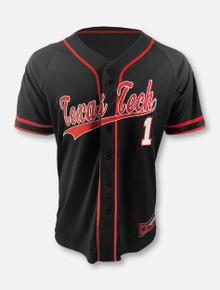 "Arena Texas Tech Red Raiders Double T ""Turf-N-Turf"" Baseball Jersey"