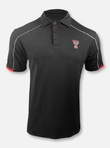 """Arena Texas Tech Red Raiders Double T """"Jamm"""" BIG & TALL Polo"""