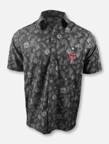 "Arena Chiliwear Texas Tech Red Raiders Double T ""Molokai"" Camp Polo"