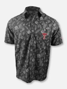 "Arena Chiliwear Texas Tech Red Raiders Double T ""Molokai"" Camp Polo"