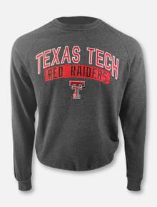 "Arena Texas Tech Red Raiders Double T ""Recreation"" Fleece Crewneck Pullover"