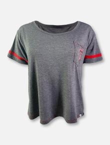 "Arena Texas Tech Red Raiders Double T ""Waffles Meet & Greet"" Boxy T-Shirt"