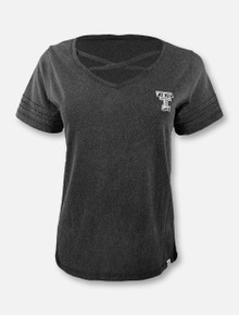 """Arena Texas Tech Red Raiders Double T """"Time Capsule"""" Crisscross  T-Shirt"""