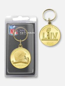 Highland Mint Texas Tech Red Raiders Kansas City Chiefs Super Bowl LIV Champions Bronze Keychain