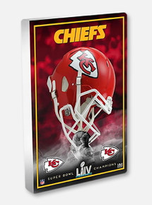 Highland Mint Texas Tech Red Raiders Kansas City Chiefs Super Bowl LIV Champions 3D Acrylic Desktop Blockart