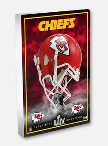 Highland Mint Texas Tech Red Raiders Kansas City Chiefs Super Bowl LIV Champions 3D Acrylic Desktop Blockart