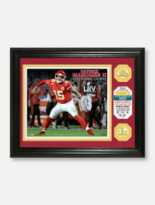 "Highland Mint Texas Tech Red Raiders Kansas City Chiefs Super Bowl LIV Champions Two-Coin ""MVP"" Photo Mint Frame"