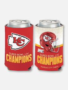 Texas Tech Red Raiders Kansas City Chiefs Super Bowl LIV Champions 12oz Can Cooler