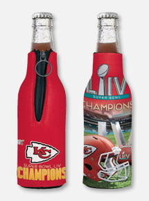 Texas Tech Red Raiders Kansas City Chiefs Super Bowl LIV Champions  Bottle Cooler